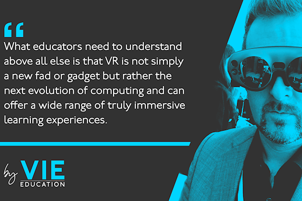 Back to the future: the power and potential of VR in education
